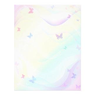 Background Butterflies Flyer Design