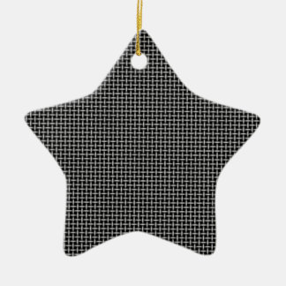 Background Ceramic Star Ornament