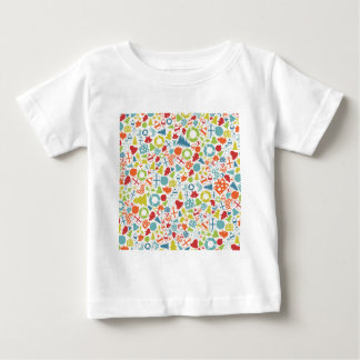 Background Christmas Baby T-Shirt