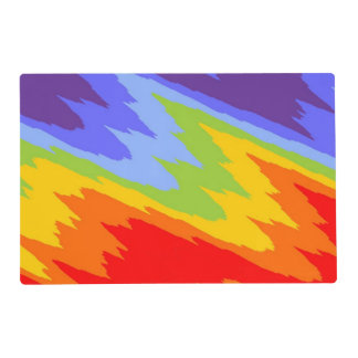 Background Colors of Chakras VII + your ideas Laminated Placemat