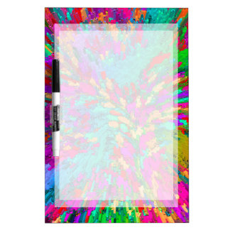 BACKGROUND DRYERASEBOARD, COLORFUL DRY ERASE BOARD