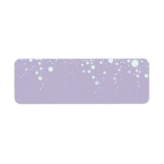 Background - Lavender Glitter Stars