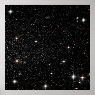Background - Night Sky & Stars Poster