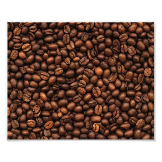 Background Of Coffee Beans Photo Art