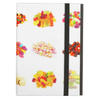 Background of Colorful Candy of Assorted Types Case For iPad Air