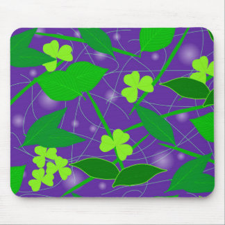 Background of leaves mouse pad