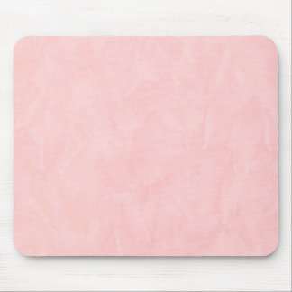Background PAPER TEXTURE - light pink Mouse Pad