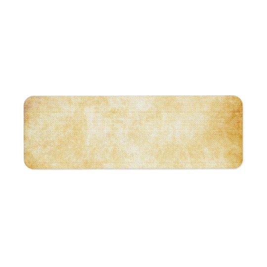 Background | Parchment Paper Return Address Label