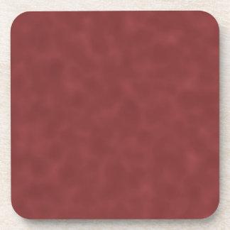 Background Pattern in Shades of Dark Red. Beverage Coasters