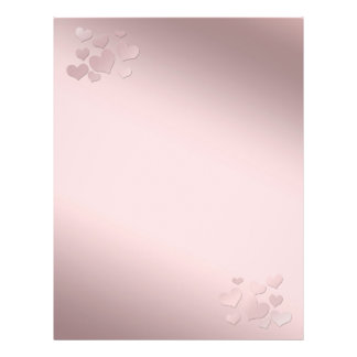 Background pearly pink Color Flyers