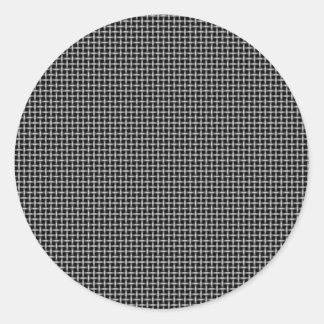 Background Round Sticker