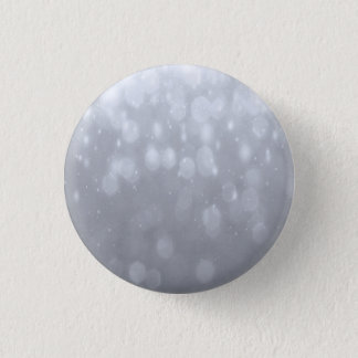 Background - Silver Bokeh Glitter Lights 1 Inch Round Button