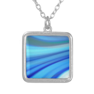 background-tags #69 silver plated necklace