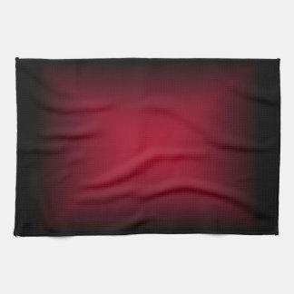 Background Template ~ Black Frame ~ Maroon Center Kitchen Towel