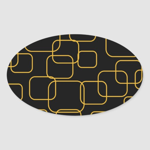 Background with boxes oval stickers