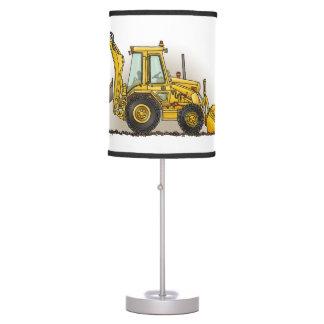 Backhoe Operator Table Lamp