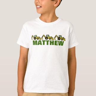 Backhoes for Matthew T-Shirt