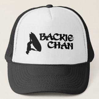 Backie Chan Truck Driver Trucker Hat