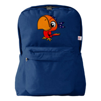 Backpack by American  Apparel Pirate Parrot