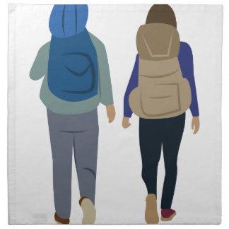 Backpack Cloth Napkins
