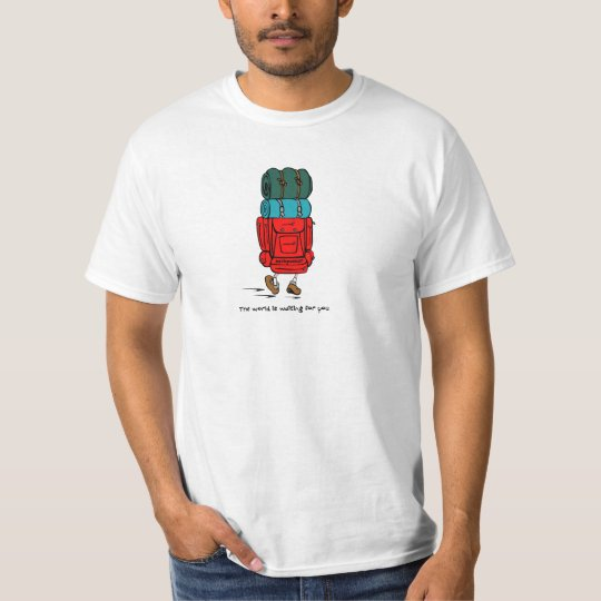 Backpacker The World is Waiting for You T-Shirt