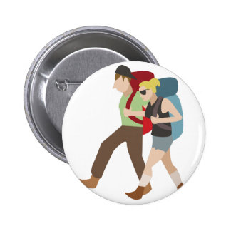 Backpackers 2 Inch Round Button