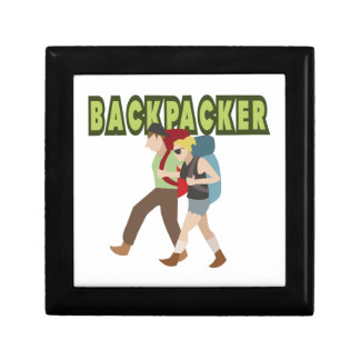 Backpackers Jewelry Box