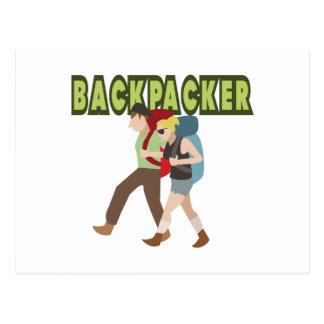 Backpackers Postcard