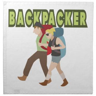 Backpackers Printed Napkin