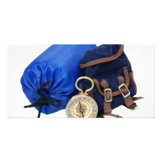 BackpackingEquipment062509 Photo Greeting Card