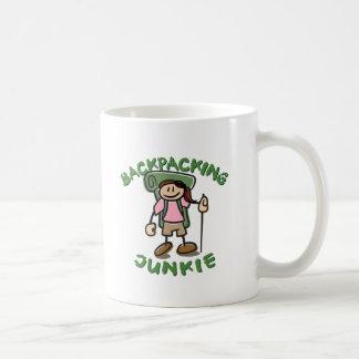 BackPackJunkie Girl Coffee Mug