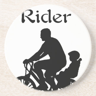 Backseat Rider Beverage Coasters