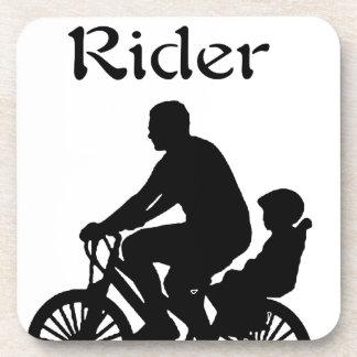 Backseat Rider Drink Coasters
