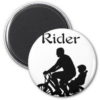 Backseat Rider Magnet