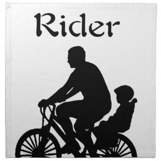 Backseat Rider Napkin