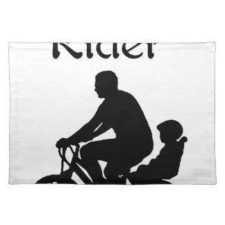 Backseat Rider Placemat