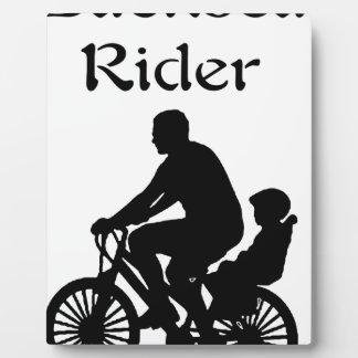 Backseat Rider Plaque