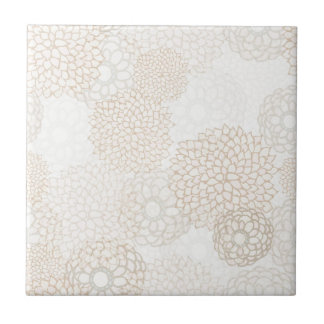 Backsplash Floral Tile