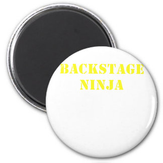 Backstage Ninja 2 Inch Round Magnet