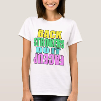 Backstrokers do it face up Light shirt