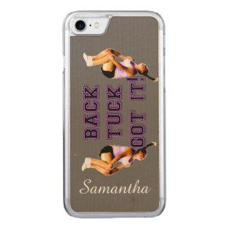 Backtuck got it gymnastics carved iPhone 7 case