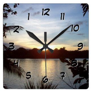 Backward Clock - Costa Rican Sunset - Tortuguero