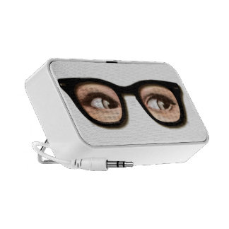backward glasses notebook speaker