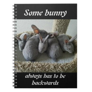 Backwards Bunnies Notebook