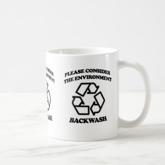 Backwash Recycling Coffee Mug