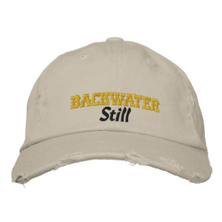 Backwater Still embroidered cap Embroidered Baseball Caps