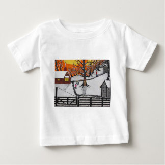 Backwoods Cabin Baby T-Shirt