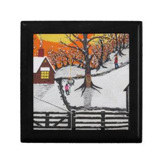Backwoods Cabin Gift Box