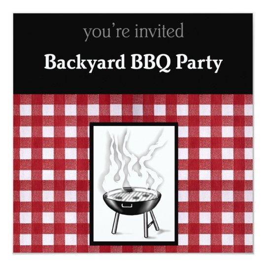 Backyard BBQ Invitation
