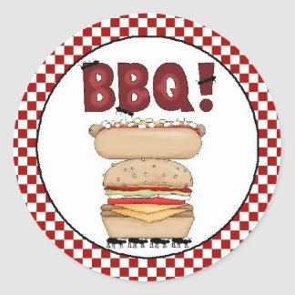 Backyard BBQ Sticker